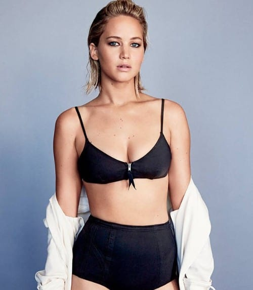 Jenifer Lawrence top 10 Hottest hollywood actresses