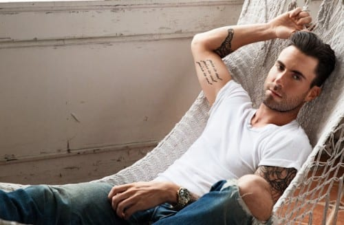 Adam Levine the top 10 Hottest Singers of all time