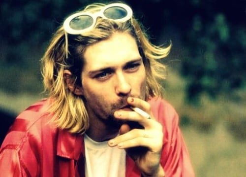 Curt Cobain the top 10 Hottest Singers of all time