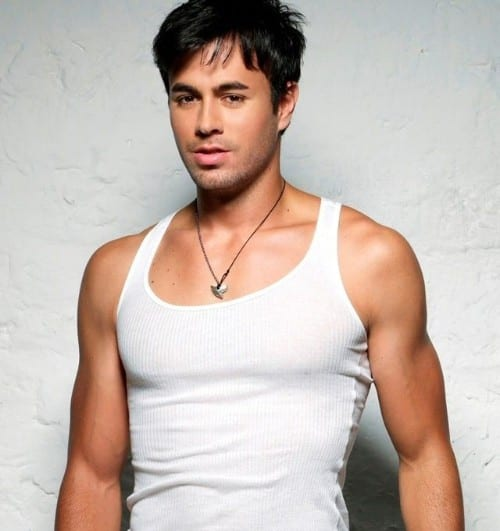 Erique Iglesias the top 10 Hottest Singers of all time