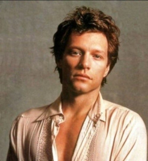 Jon Bon Jovi the top 10 Hottest Singers of all time