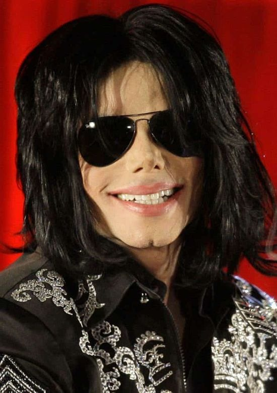 """2009 – Michael Jackson announcing """"This is It"""" promising his fans to see them in July"""