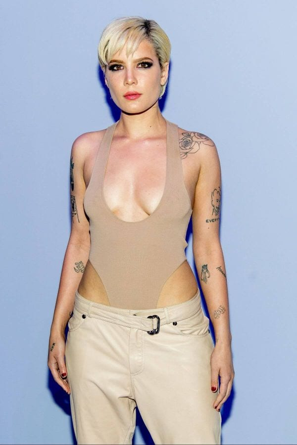 Exquisitely Sexy and Half-Nude Halsey Pictures-1