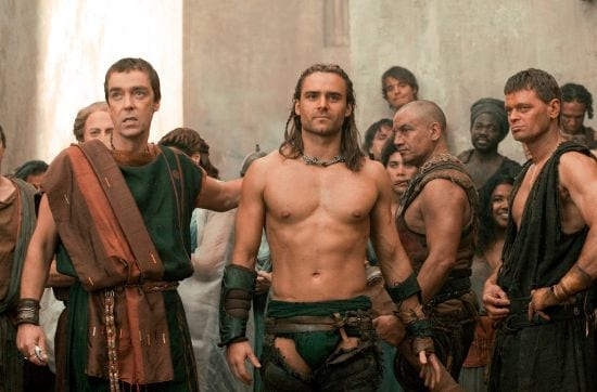 Spartacus Top 10 Erotic TV Series with Nudity and Sex Scenes