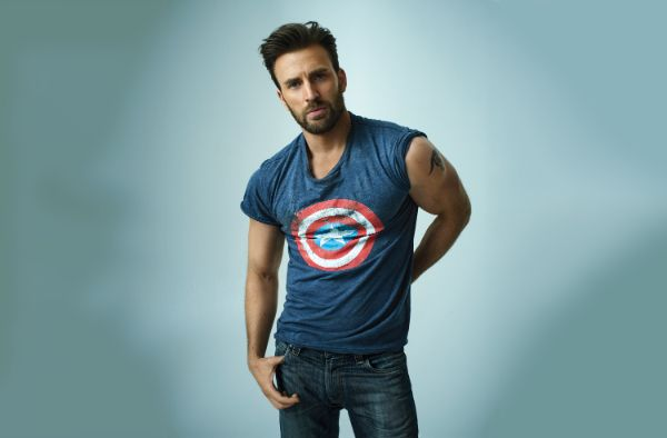 Chris Evans Most handsome men in the world