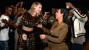 Kim Kardashian & Taylor Swift Got Into Social Media War Over Leaked Famous Conversation -1