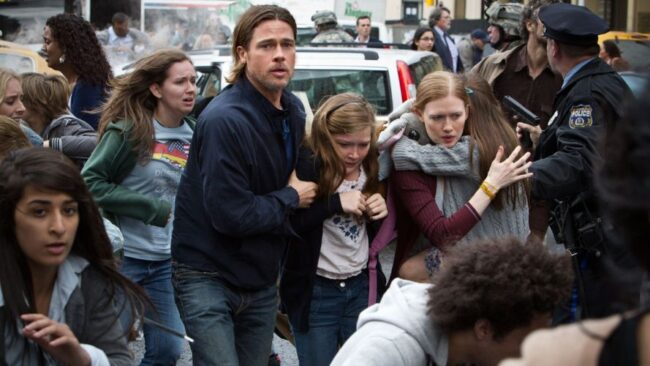 World War Z Top 10 Pandemic Movies to Watch if You're Quarantined