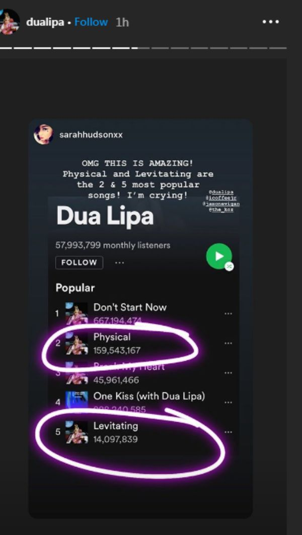 Dua Lipa's 'Future Nostalgia' Smash Major Records