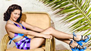 43 Hottest Half-Nude Photos of Yvonne De Carlo
