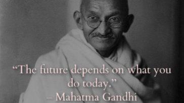 33 Inspirational Mahatma Gandhi Quotes of Liberty And Peace