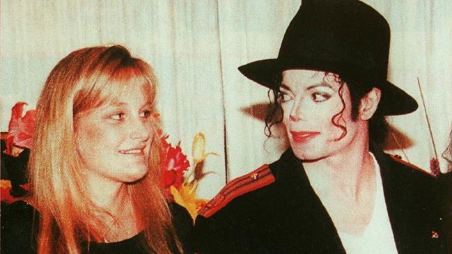 Debbie Row and Michael Jackson