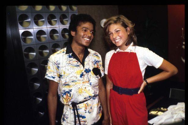 Tatum O'Neal and Michael Jackson