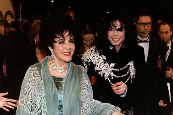 Elizabeth Taylor and Michael jackson
