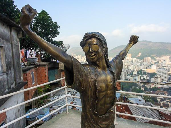 Michael Jackson Brazilian Favela