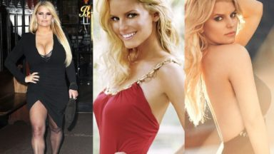 33 Hot Half-Nude Photos of Jessica Simpson