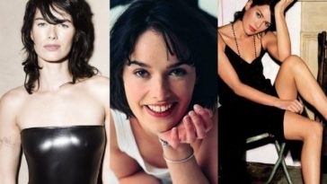 38 Hot Cleavage Photos of Lena Heady, Boobs Pics