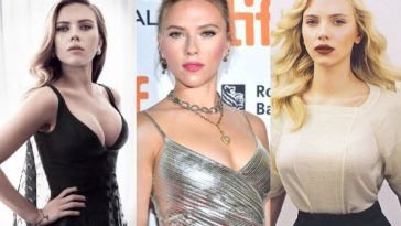 53 Hottest Scarlett Johansson Boobs Photos, Cleavage Pics