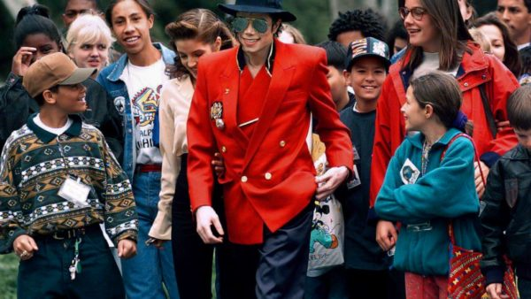 Michael Jackon supported children around the world