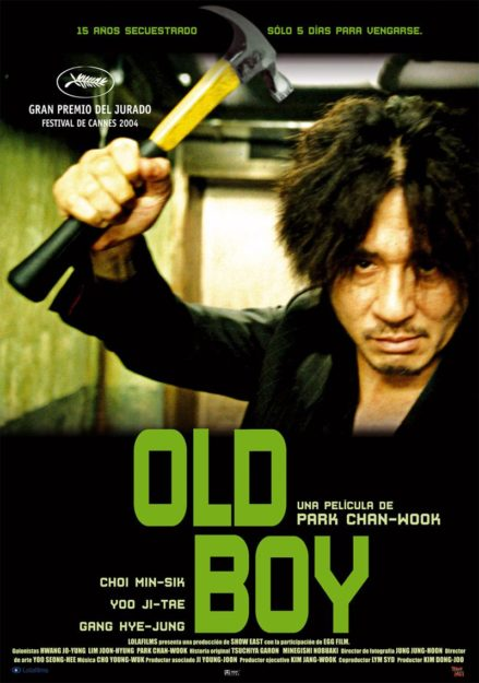 Oldboy Adult and disturbing movies