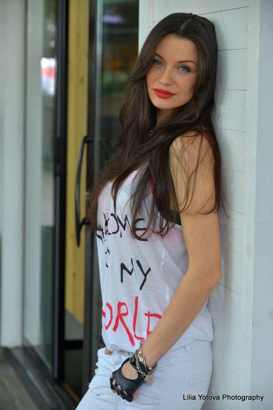 Dilyana Popova Beautiful Bulgarian Woman