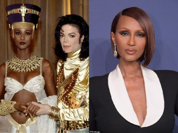 Iman - Michael Jackson Music Vixens - Then and Now