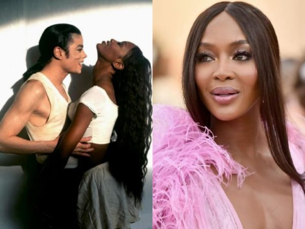 Naomi Campbell - Michael Jackson Music Vixens - Then and Now