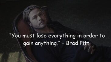 29 Motivational Quotes of Actor Brad Pitt About Life's Journey