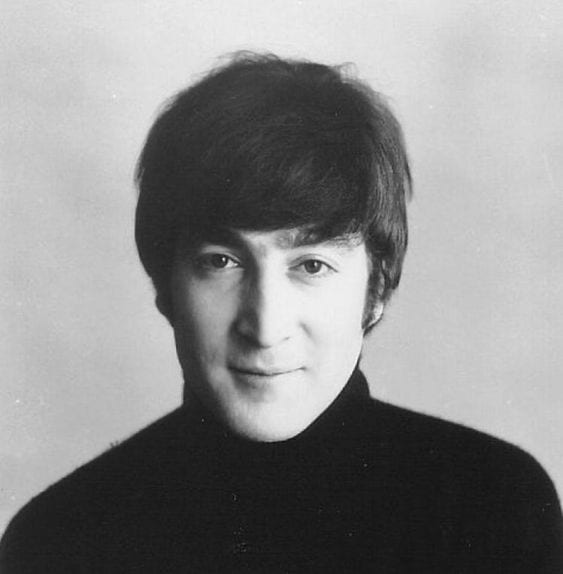John Lennon top 10 Most talented male singers of all time