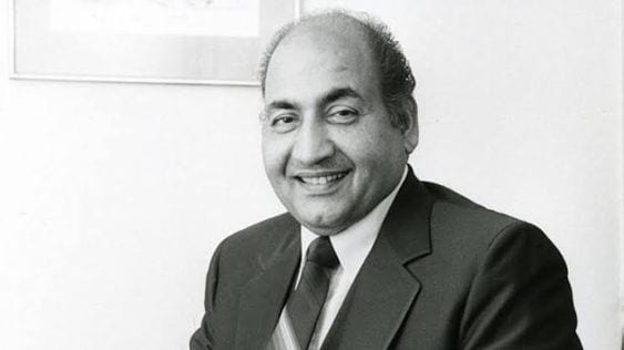 Mohammed Rafi top 10 Most talented male singers of all time