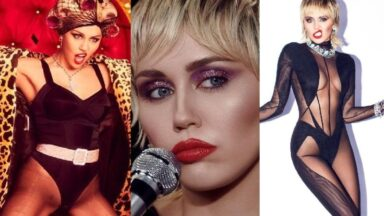Series of Near Nude Photos of Miley Cyrus on The Internet